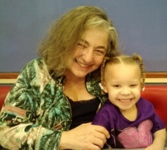 My great-granddaughter Aryana helps me stay in touch with the LIttle Girl inside me!